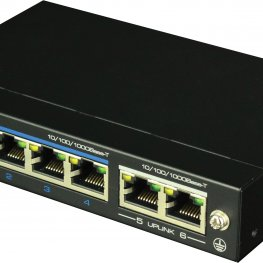 DAS-2042P - 4 port POE switch