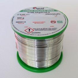 Безоловен тинол със сребро 0,8 мм 500 гр.