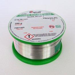 Безоловен тинол 0,7 мм 250 гр.