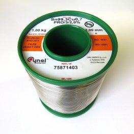 Безоловен тинол 2 мм 1000 гр. (2)