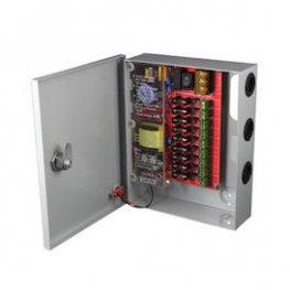 Захранващ блок с метална кутия 9 канала 12V, 5А